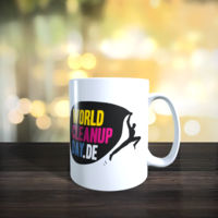 Offizielle Tasse World Cleanup Day Miniaturansicht